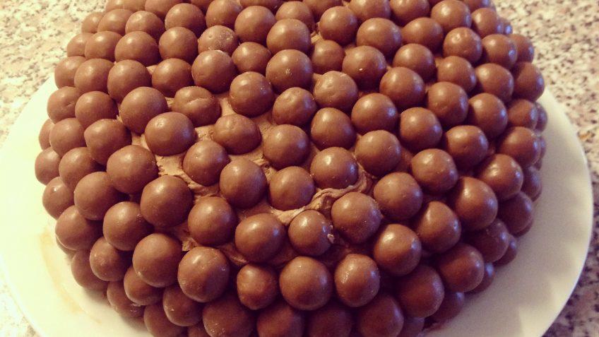 Gâteau au maltesers