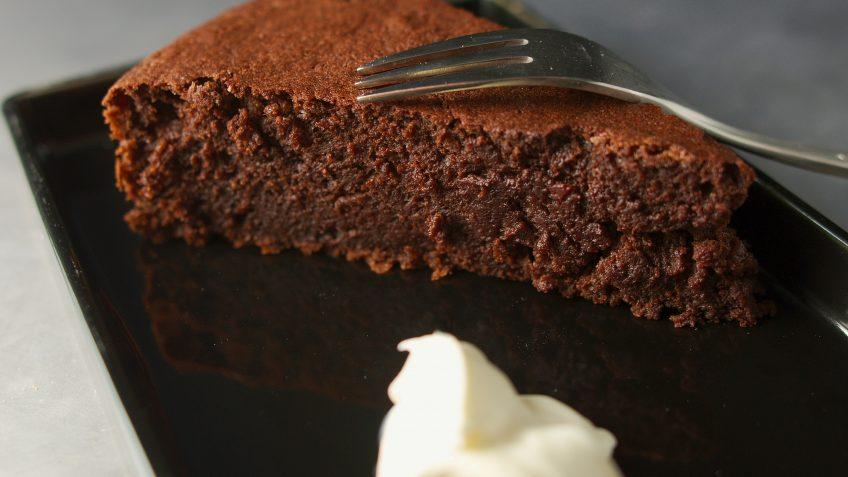 Moelleux au chocolat et betterave