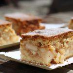 Gâteau sans oeufs aux pommes