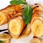 Crêpes banane-chocolat