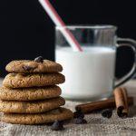 Cookies au chocolat, miel et cannelle