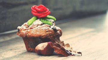 Muffins aux châtaignes et chantilly chocolat blanc