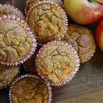 Muffins à la carotte et à la pomme