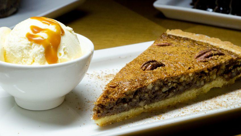 Tarte aux noix de pécan (Pecan pie)