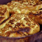 Brioche pain perdu