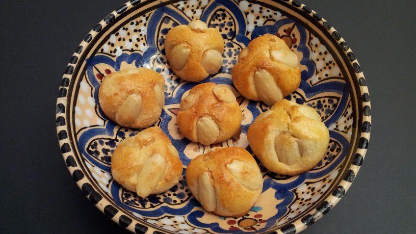 Gâteaux à la pâte d'amande - Bethmännchen