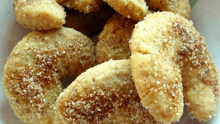 Biscuits croissants à la vanille - kipferl