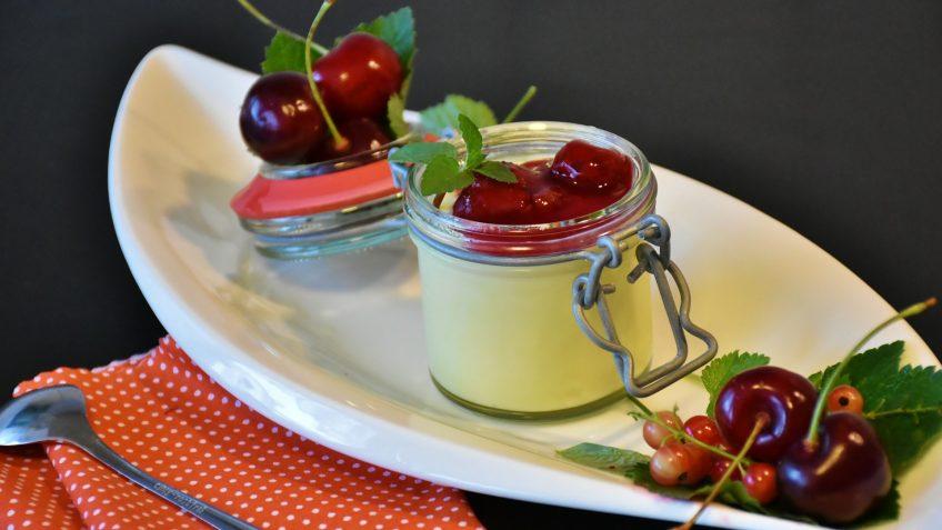 Pudding à la vanille
