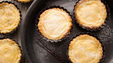 Tartelettes à la crème de vanille